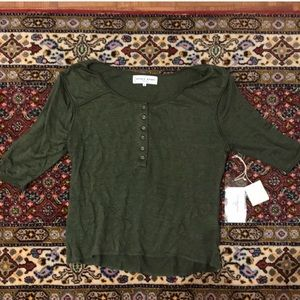 Apiece Apart Henley New with Tags size XS